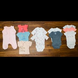 "Baby girl ""Newborn"" clothes"